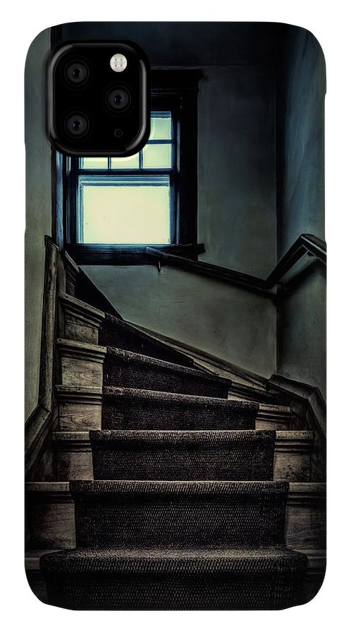 Scott Norris Photography IPhone Case featuring the photograph Top Of The Stairs by Scott Norris