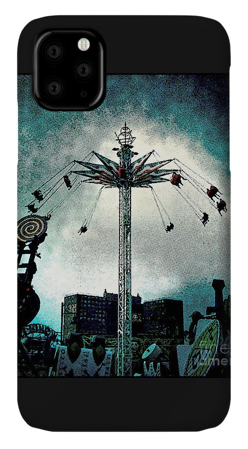 Coney Island IPhone Case featuring the photograph Top Of The World 2 by Onedayoneimage Photography