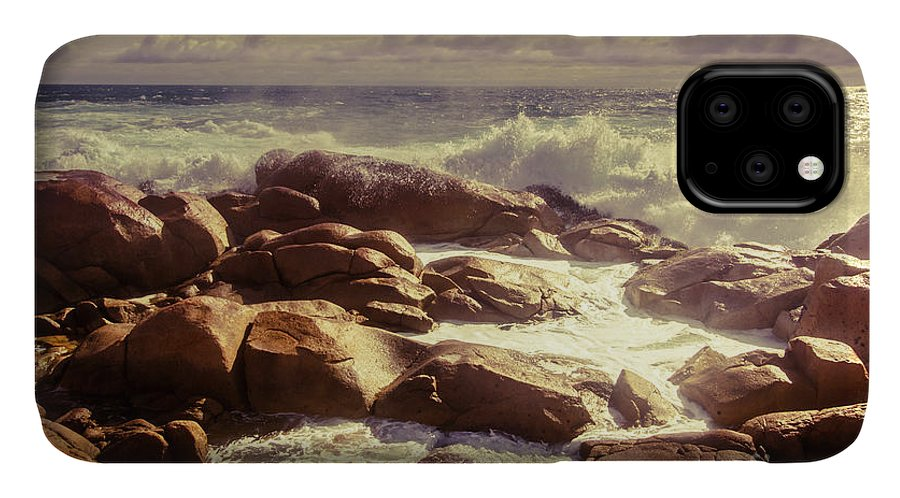 Tranquil IPhone Case featuring the photograph Tranquil Ocean Views by Jorgo Photography - Wall Art Gallery