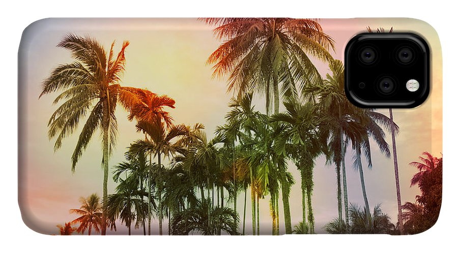 Tropical IPhone Case featuring the photograph Tropical 11 by Mark Ashkenazi