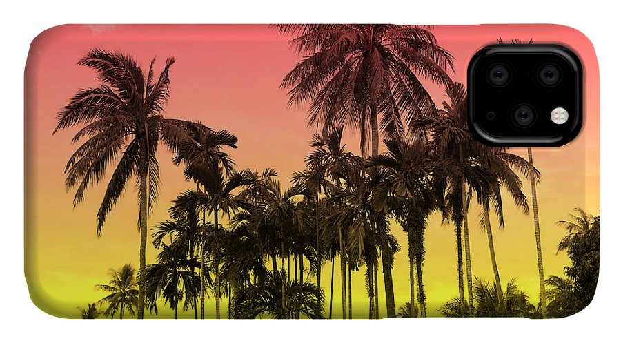 IPhone Case featuring the photograph Tropical 9 by Mark Ashkenazi
