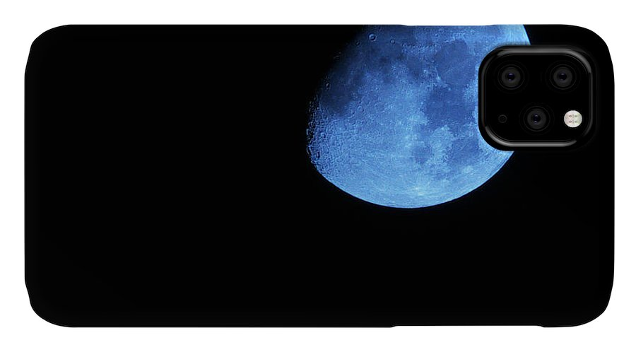Waxing Blue Moon IPhone Case featuring the photograph Twice in a blue Moon by Baato