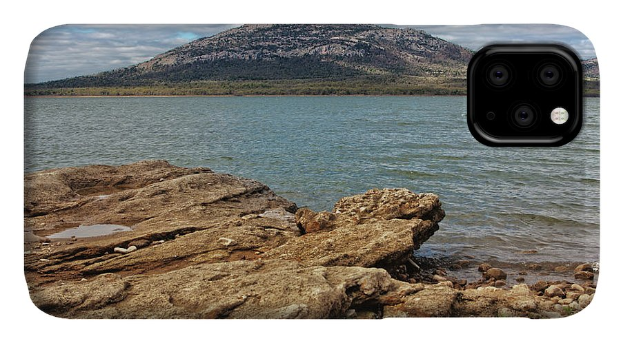 Mountain IPhone Case featuring the photograph View Of Mount Scott From Lawtonka by Eugene Campbell