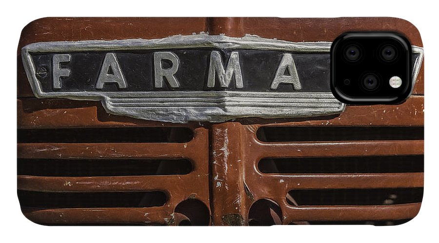 Farmall Tractor IPhone Case featuring the photograph Vintage Farmall Tractor by Scott Norris