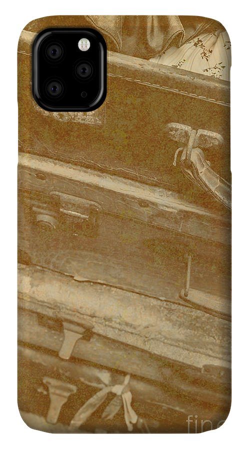 Travel IPhone Case featuring the photograph Vintage Travel Stack by Jorgo Photography - Wall Art Gallery