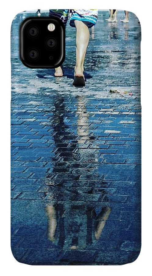 Man IPhone Case featuring the photograph Walking on the water by Nerea Berdonces Albareda