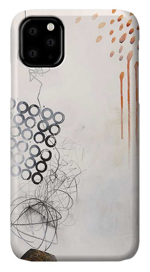 Painting IPhone Case featuring the painting Washed Up # 8 by Jane Davies
