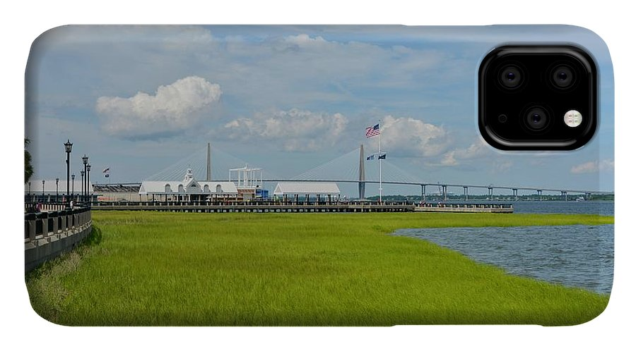 Charleston IPhone 11 Case featuring the photograph Waterfront Park Charleston by Greg Joens