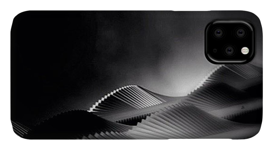 Rptw4ofblack IPhone Case featuring the photograph Waves Of Steel - Concrete Jungle by Robbert Ter Weijden