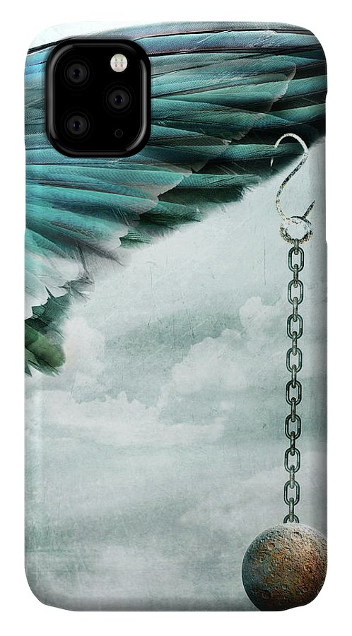 Emotion IPhone Case featuring the mixed media Weary by Jacky Gerritsen