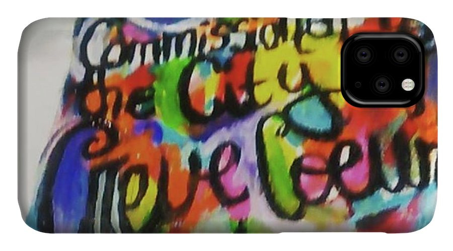 Artisticcommunity IPhone Case featuring the photograph Working On The City Of Creve Coeur Arts by Genevieve Esson