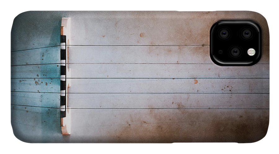 Strings IPhone Case featuring the photograph Five String Banjo by Scott Norris