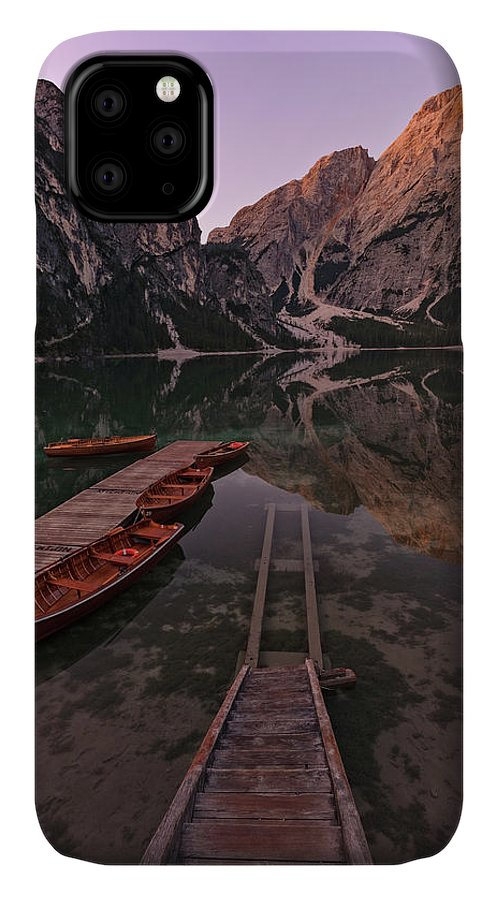 Lake Braies IPhone Case featuring the photograph Lake Braies - Italy by Joana Kruse