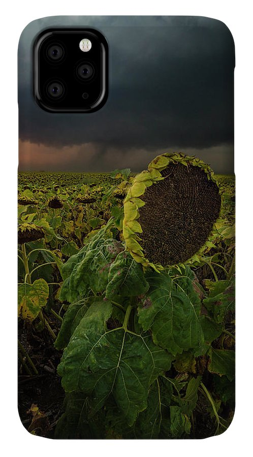 Tornado IPhone 11 Case featuring the photograph Twisted by Aaron J Groen