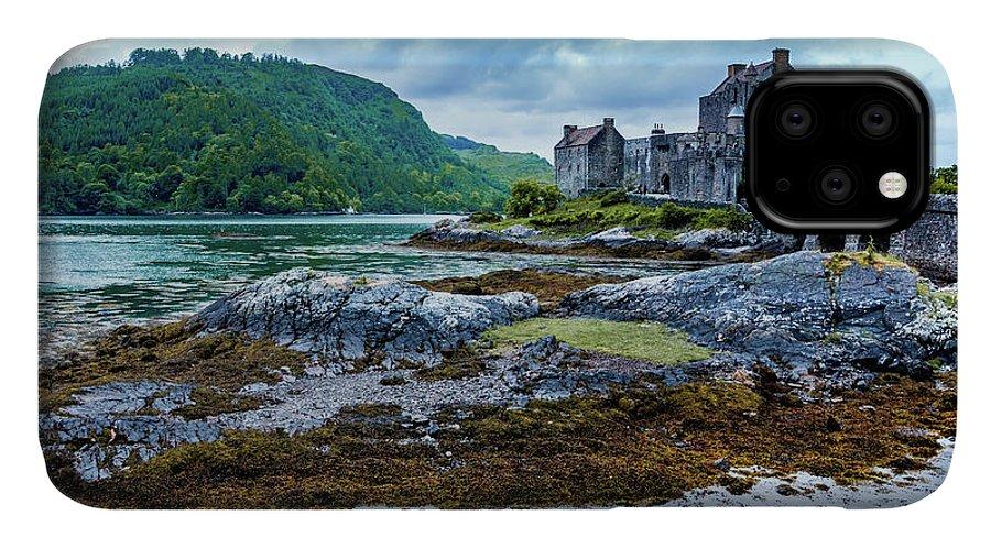 Castle IPhone 11 Case featuring the photograph Eilean Donan Castle by Fabio Gomes Freitas