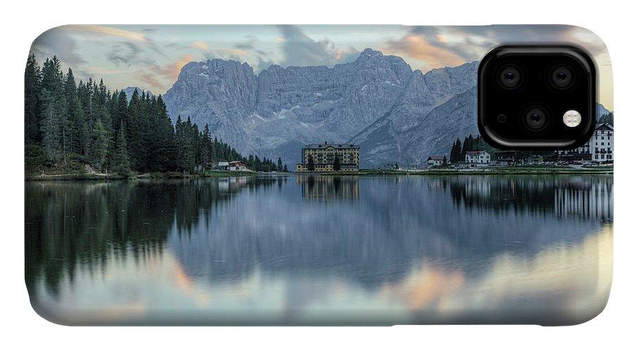 Misurina IPhone Case featuring the photograph Misurina - Italy by Joana Kruse