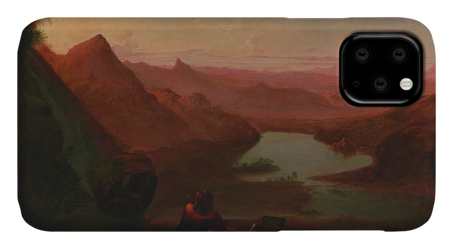 Painting IPhone Case featuring the painting The Painter's Holiday by Francis Danby