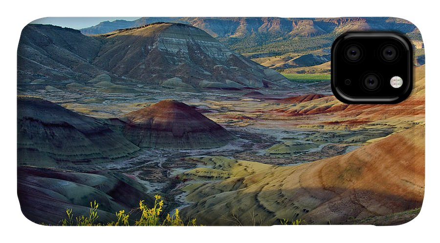 Black IPhone Case featuring the photograph Painted Hills, John Day Fossil Beds by Michel Hersen