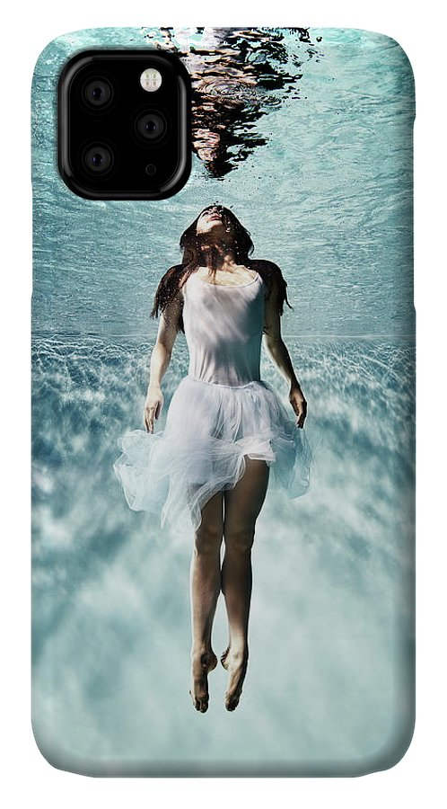 Ballet Dancer IPhone Case featuring the photograph Underwater Ballet by Henrik Sorensen