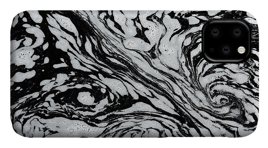 Black And White IPhone Case featuring the photograph Canada, Manitoba, Whiteshell Provincial by Jaynes Gallery