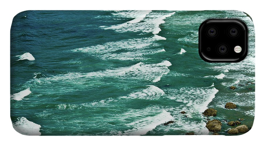 Beach IPhone Case featuring the photograph Sunset, Heceta Beach, Oregon Coast by Michel Hersen