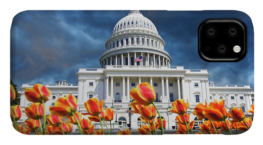 Building IPhone Case featuring the photograph Usa, Washington Dc by Jaynes Gallery