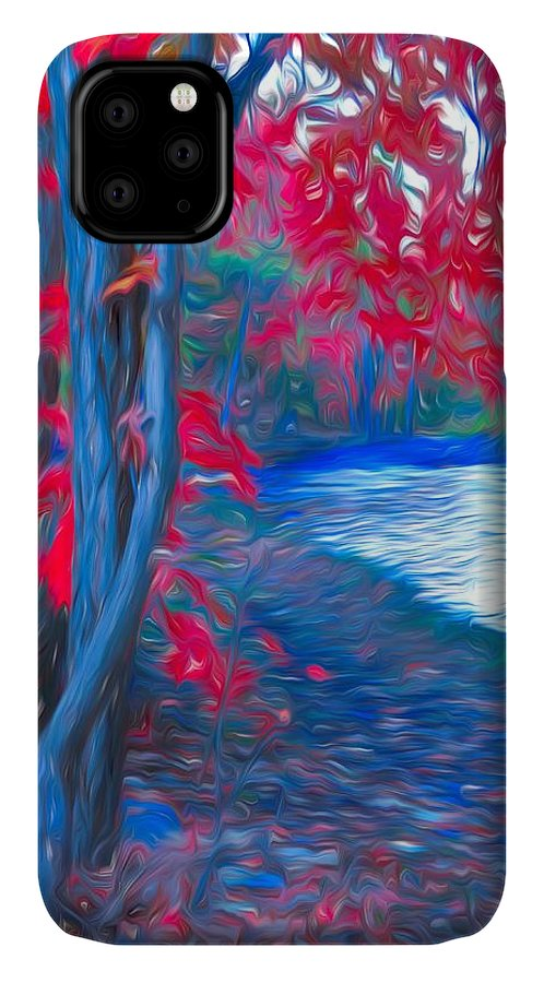Tree IPhone Case featuring the photograph A Delicate Autumn by Tara Turner