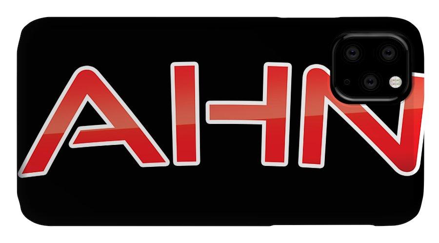 Ahn IPhone Case featuring the digital art Ahn by TintoDesigns
