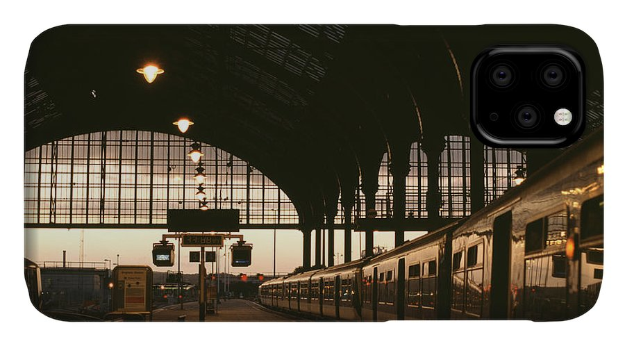 United IPhone Case featuring the photograph An Image Of Brighton Station by Kpg payless