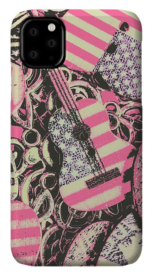 Rock IPhone 11 Case featuring the photograph Anthems Of America by Jorgo Photography - Wall Art Gallery