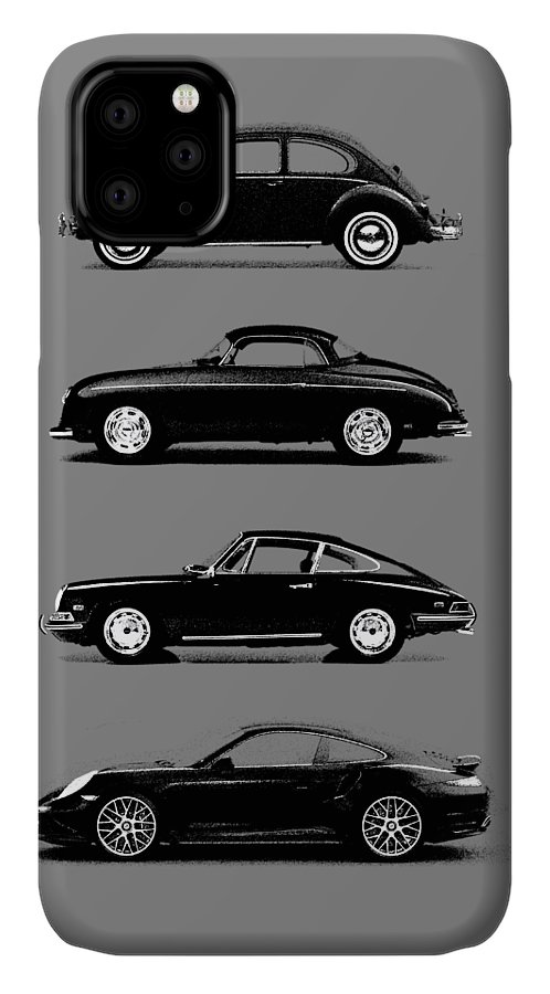 Porsche IPhone 11 Case featuring the photograph Evolution by Mark Rogan
