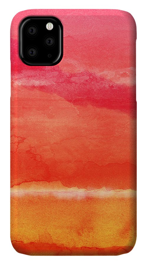 Abstract IPhone Case featuring the painting Awakened 5 - Art by Linda Woods by Linda Woods