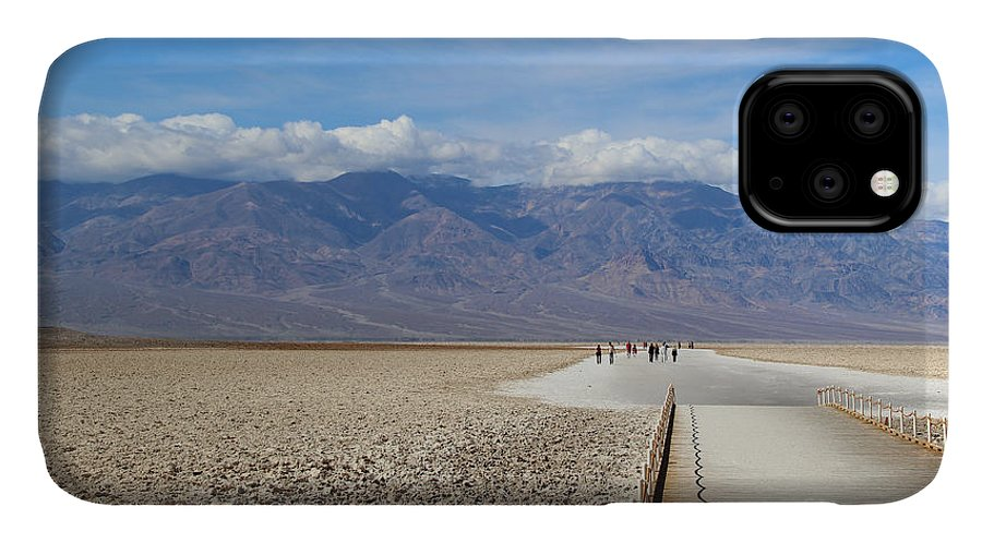 Southwest IPhone Case featuring the photograph Badwater In Death Valley National Park by Marimarkina