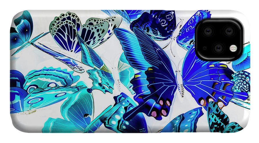 Blue IPhone 11 Case featuring the photograph Blue Buggery by Jorgo Photography - Wall Art Gallery