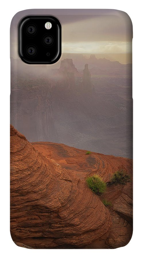 Utah IPhone Case featuring the photograph Canyon Moods by Darren White