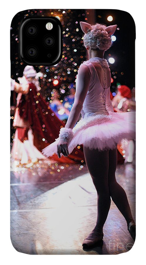 Dancers IPhone 11 Case featuring the photograph Christmas Ballet Performance by Anna Jurkovska