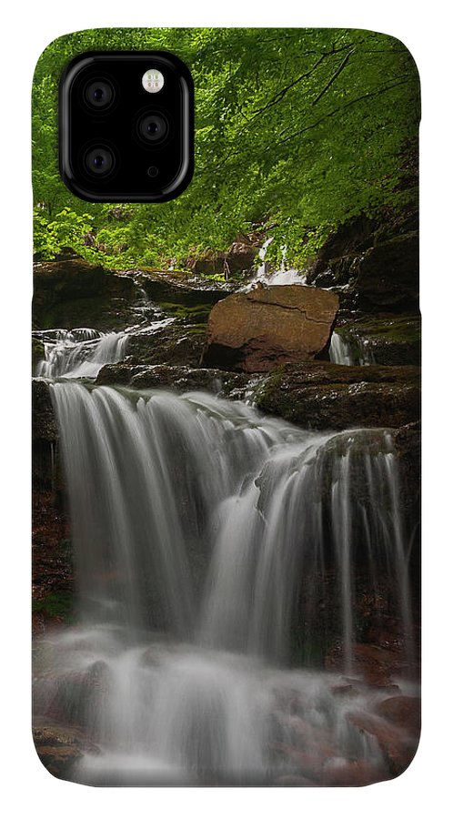 Rapid IPhone Case featuring the photograph Cold River by Evgeni Dinev
