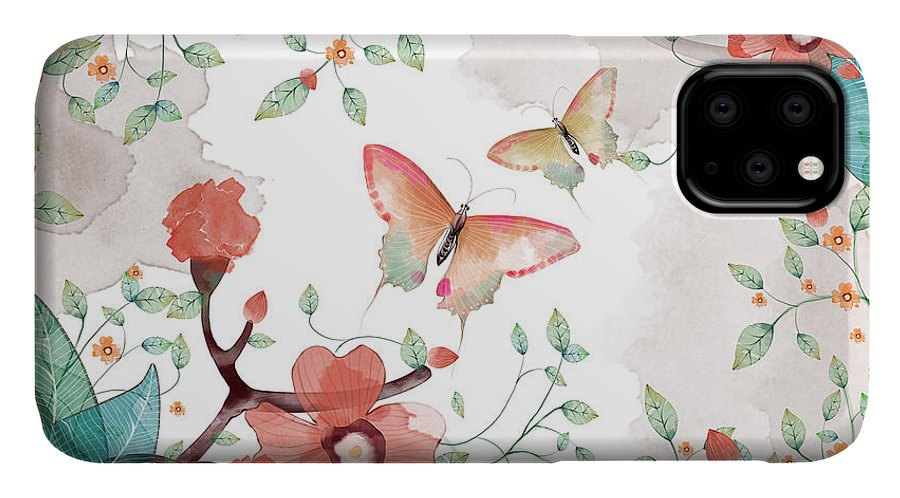 Fancy IPhone Case featuring the digital art Creative Illustration And Innovative by Nextmarsmedia