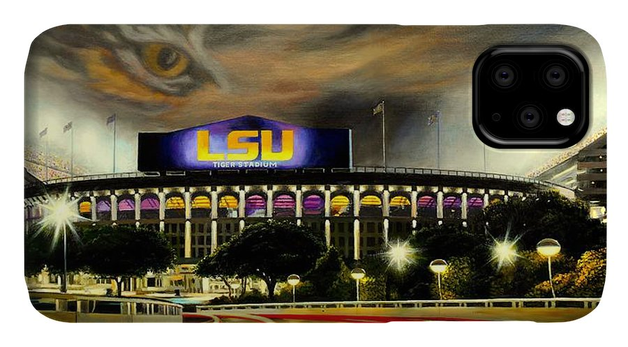 Art IPhone Case featuring the painting Death Valley Game Time by Mike Roberts