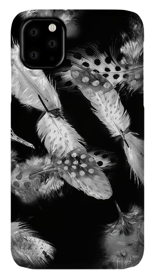 Black And White IPhone Case featuring the photograph Decorated In Black And White by Jorgo Photography - Wall Art Gallery