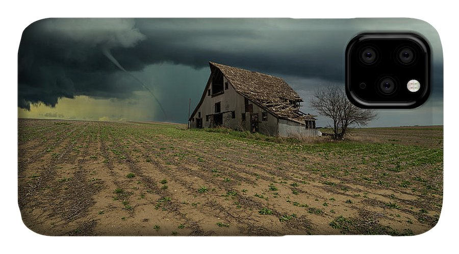 Tornado IPhone 11 Case featuring the photograph Doomsday by Aaron J Groen