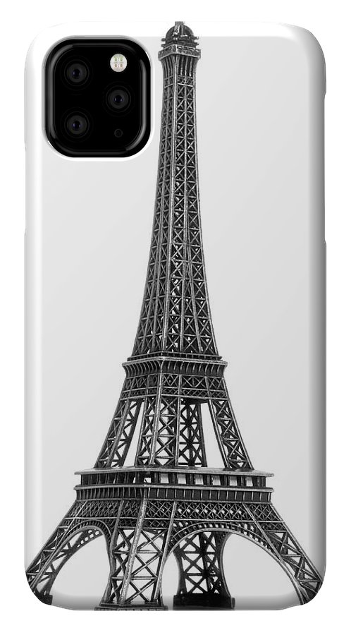 Architectural Model IPhone Case featuring the photograph Eiffel Tower by Jamesmcq24