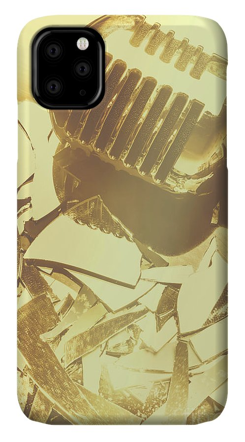 Concert IPhone 11 Case featuring the photograph Floorshow by Jorgo Photography - Wall Art Gallery