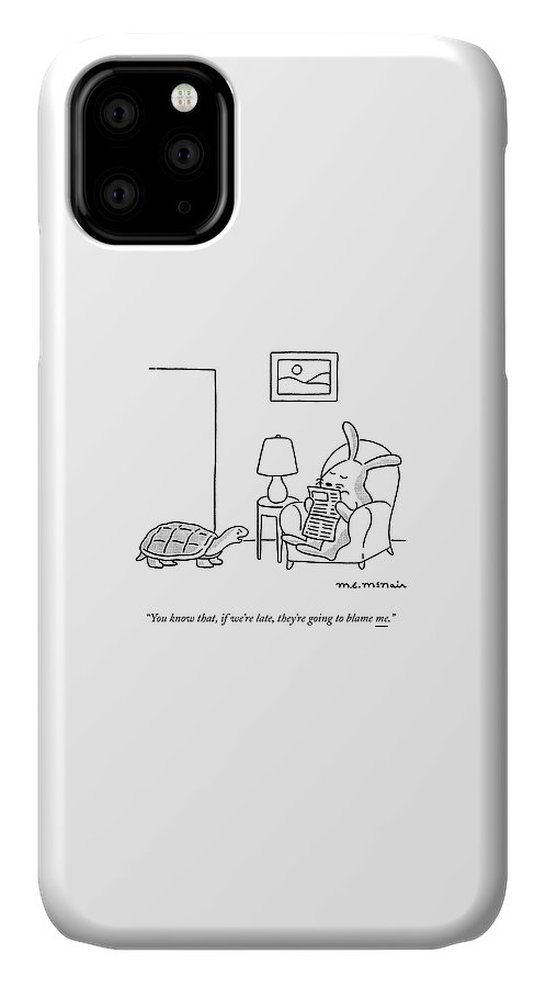 If We're Late IPhone Case