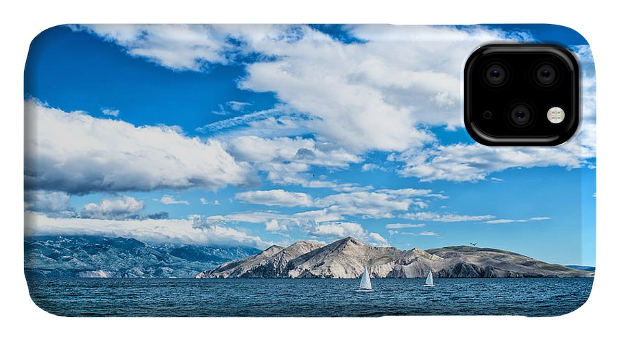 Cliffs IPhone Case featuring the photograph Island Seaside Or Ocean Landscape by Bogdanhoda