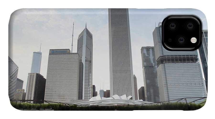 Millennium Park IPhone Case featuring the photograph Millennium Park by By Ken Ilio