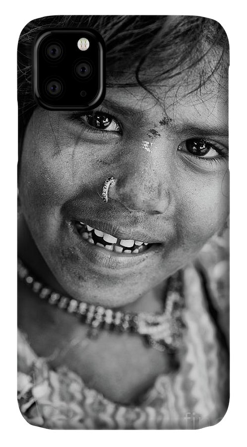 India IPhone Case featuring the photograph Nomadic Smile by Tim Gainey