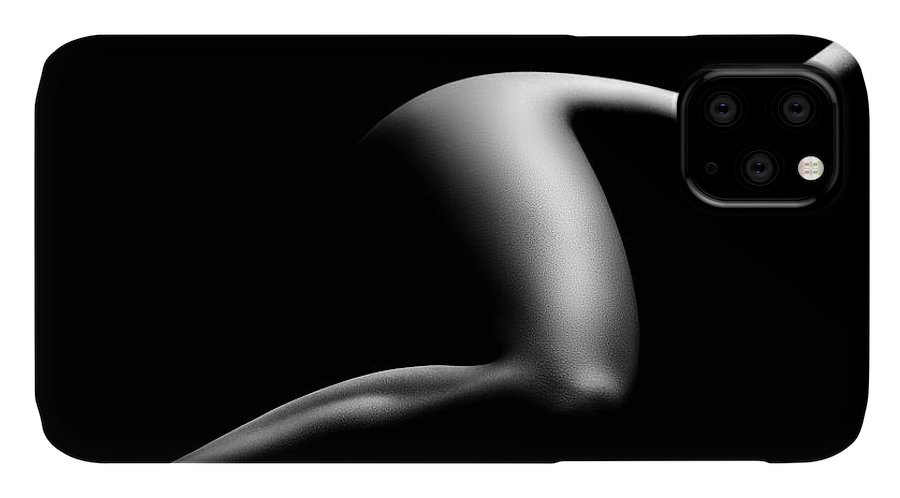 Woman IPhone Case featuring the photograph Nude woman bodyscape 9 by Johan Swanepoel