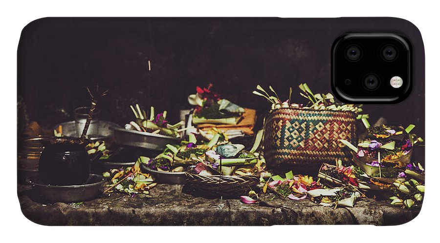Food IPhone Case featuring the photograph Offering To God by Felipe Queriquelli