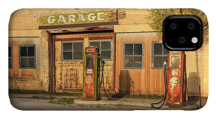 Auto IPhone 11 Case featuring the photograph Old Service Station In Rural Utah, Usa by Johnny Adolphson